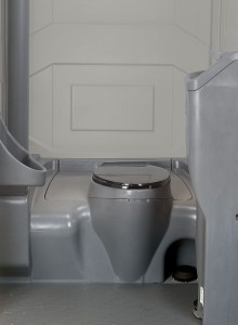 interior of toilet